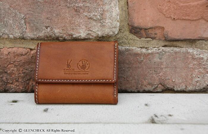 オリーチェバケッタレザー三つ折り財布