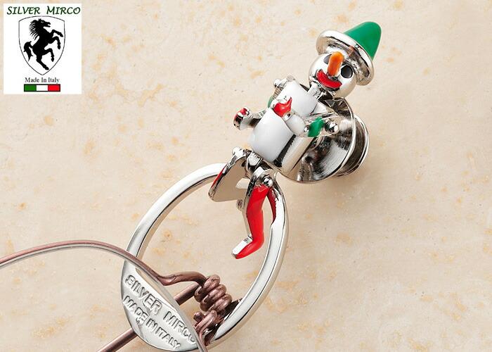 イタリア製シルバーグラスホルダー(ピノキオ)
