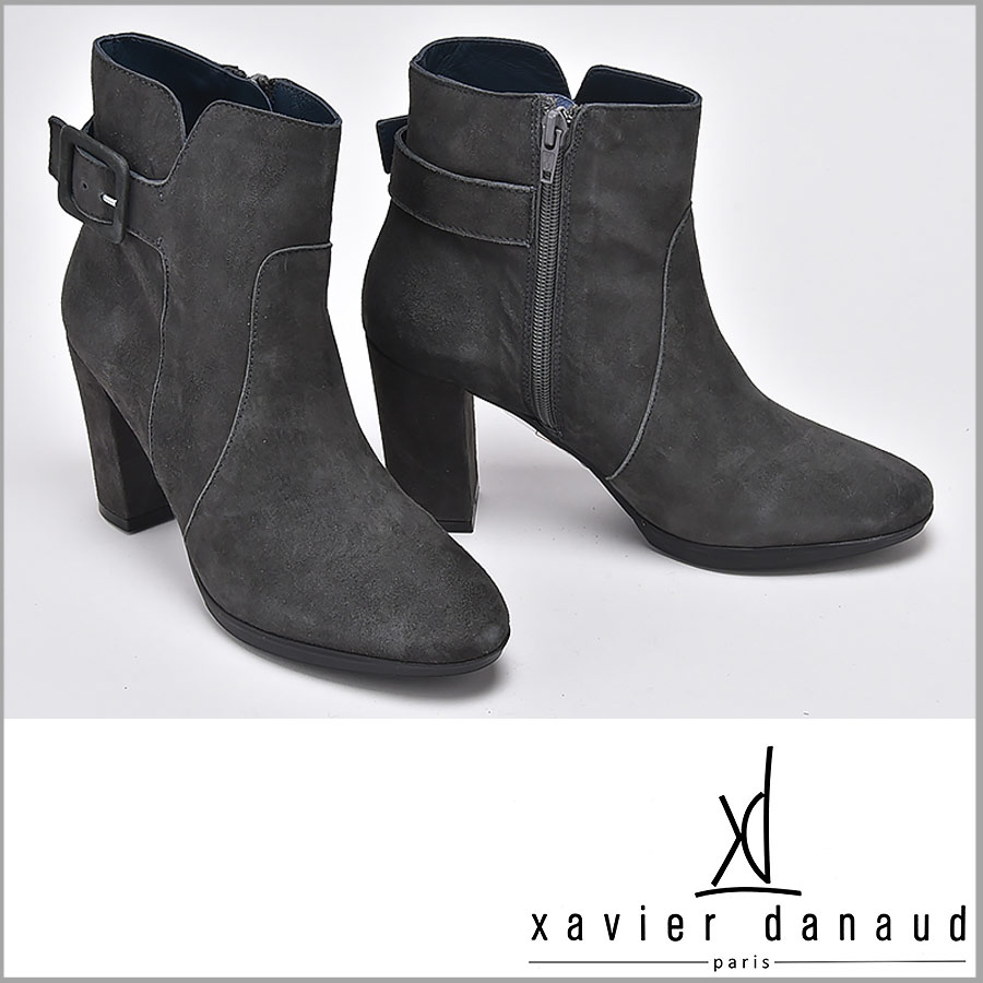 XAVIER DANAUD/グザヴィエ ダノー/xavier danaud】スエード ショートブーツ