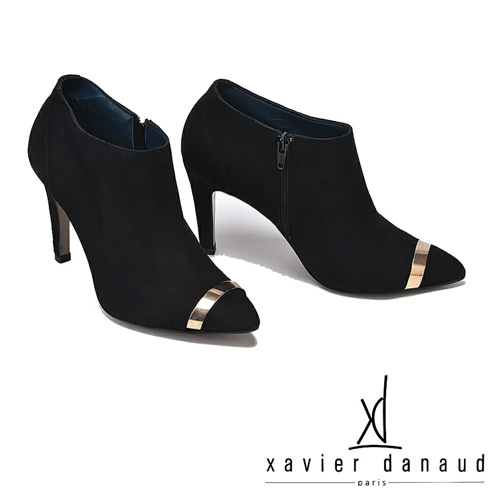 XAVIER DANAUD/グザヴィエ ダノー/xavier danaud スエード ブーティ
