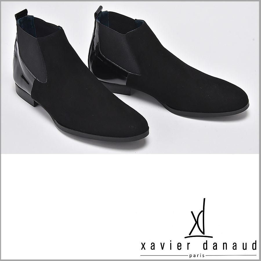 XAVIER DANAUD/グザヴィエ ダノー/xavier danaud サイドゴア アンクルブーツ