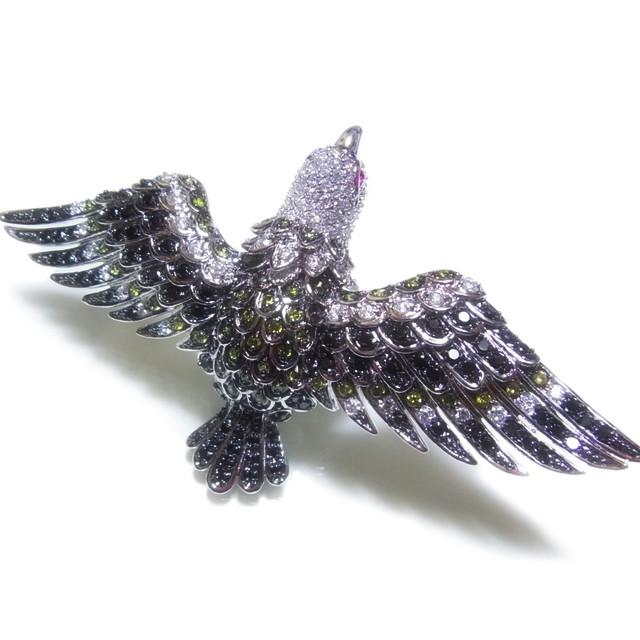 アニマルジュエリー イーグル 鷲のパヴェリング