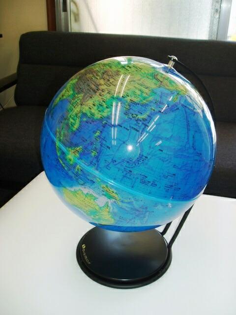 アクリル地球儀