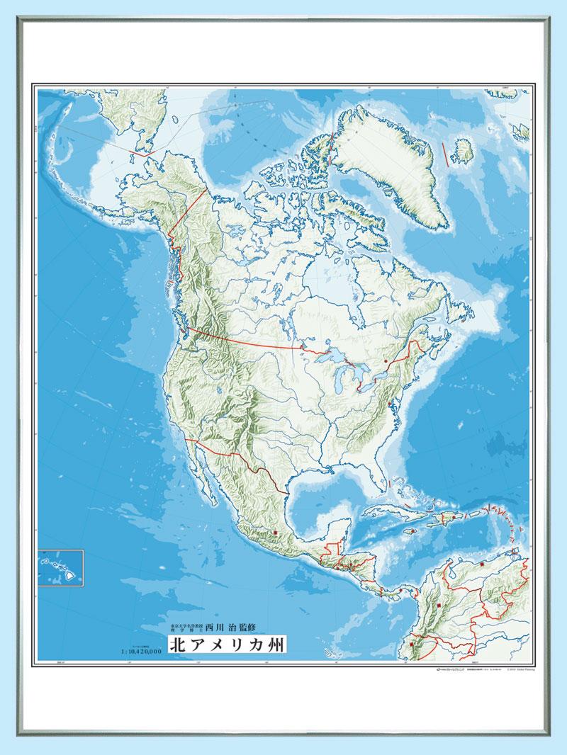 白地図ホワイトボード(アジア ...