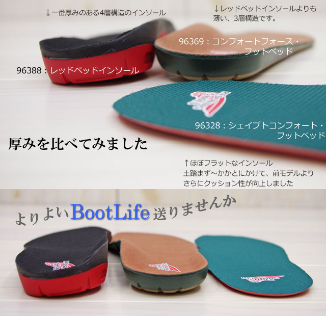 Red Wing Boot Insoles