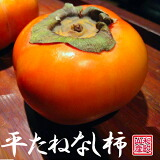 和歌山産 平たねなし柿 訳あり 3kg