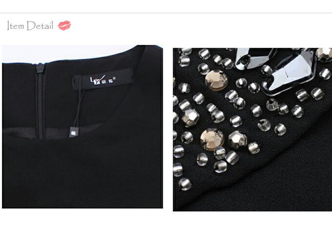 大きいサイズ レディース ワンピース ワンピ チュニック 長袖 柄物 タイト タイトワンピ ロング  黒 ブラック 上品 エレガント ゴージャス セレブ LL 13号 2L XL 3L XXL 15号 4L 17号