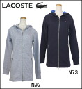 LACOSTE Lady's golf wear パーカーワン piece SF6723