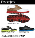 FOOTJOY men golf shoes EXL spikeless POP upup7