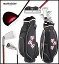 marieclaire Lady's golf half club set MC63HG31 fs3gm