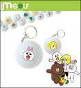 IM Golf×LINE collaboration John key ring type (type 9) 1 ball Pack