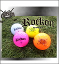 ROCKON golf balls 1 dozen