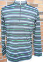 Sale! nike stretch UV stripe zip LS mock 383612