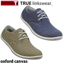 Toe roux Lynxware 2014 model golf shoes oxford canvas (Oxford canvas)