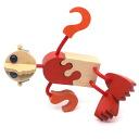 WOODEN DOLL #7 Wooden Toys (Ginga Kobo Toys) Japan