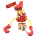 WOODEN DOLL #14 Wooden Toys (Ginga Kobo Toys) Japan