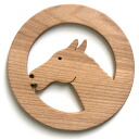 Horse Coaster Wooden Toys (Ginga Kobo Toys) Japan