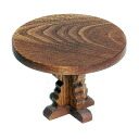 ROUND MINIATURE TABLE Wooden Toys (Ginga Kobo Toys) Japan