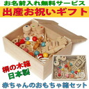 Baby Toy Box Set (B Type) Wooden Toys (Ginga Kobo Toys) Japan