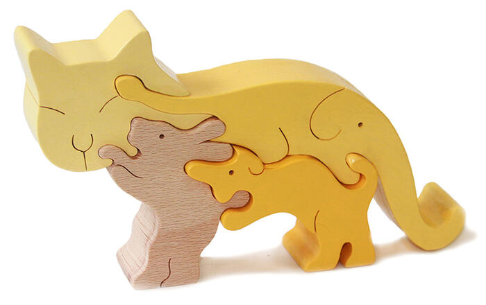 Free Wood Puzzles For Kids