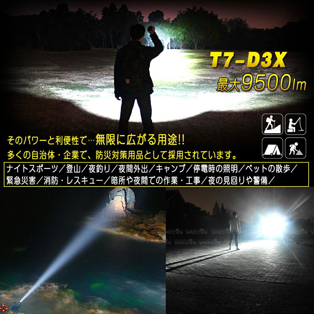 �Ƕ� led�������� CREE����XML-T6*7 9500lm 5�⡼�����ء��۵��ѥ饤��