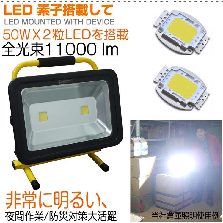 Ķ��� LED����� ���ż� 100W �ݡ����֥������ �����ɥ쥹 �����