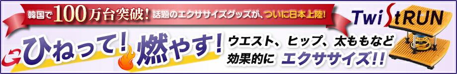 【テレビ朝日 モーニングバードで放送・紹介!】 ツイストラン (エクササイズ ダイエット機器 運動)