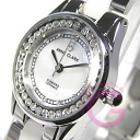 ANNE CLARK (enclave) AM-1024-09/AM1024-09 rhinestone white ladies watch watches