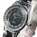 ANNE CLARK (enclave) AM-1024-11/AM1024-11 rhinestone black ladies watch watches