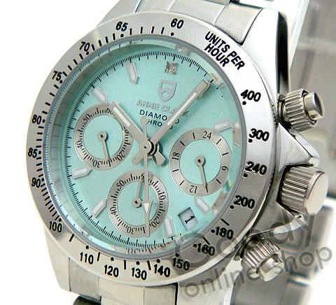 腕時計【正規品 ANNE CLARK(アンクラーク) AM-1012VD-18 クロノグラフ レディース 腕時計】