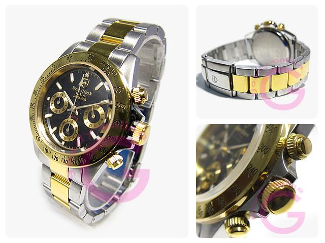 DON CLARK (ダンクラーク)  DM-2051-05GS/DM2051-05GS クロノグラフ メンズウォッチ 腕時計