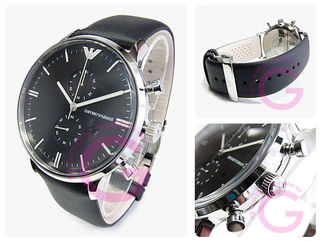 EMPORIO ARMANI / エンポリオアルマーニ AR0397 クロノグラフ メンズウォッチ 腕時計