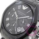 ( Emporio Armani ) EMPORIO ARMANI AR1400 CERAMICA, Ceramica ceramic chronograph black mens watch