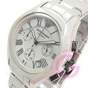 EMPORIO ARMANI ( Emporio Armani ) AR1460 CERAMICA / boys size chronograph grey watch Ceramica ceramic