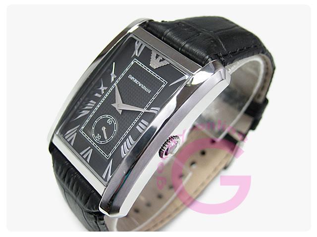 EMPORIO ARMANI / エンポリオアルマーニ AR1604 スモールセコンド メンズウォッチ 腕時計