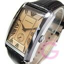 Classic leather belt small second Brown watch AR1605 EMPORIO ARMANI ( Emporio Armani )