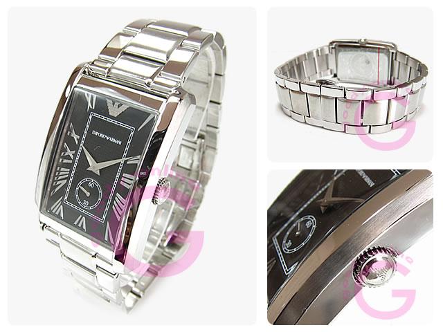 EMPORIO ARMANI / エンポリオアルマーニ AR1608 スモールセコンド メンズウォッチ 腕時計