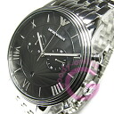 EMPORIO ARMANI ( Emporio Armani ) AR1617 new retro chronograph stainless steel belt black mens watch
