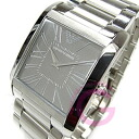 EMPORIO ARMANI ( Emporio Armani ) AR2010 super slim metal belt grey men's watch