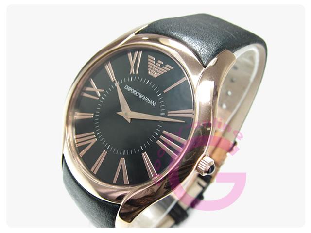 EMPORIO ARMANI / エンポリオアルマーニ AR2043 スーパースリム レザーベルト メンズウォッチ 腕時計
