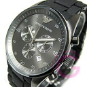 An EMPORIO ARMANI (Emporio Armani) AR5889 Sport Chronograph rubber / stainless steel belt-men's watch