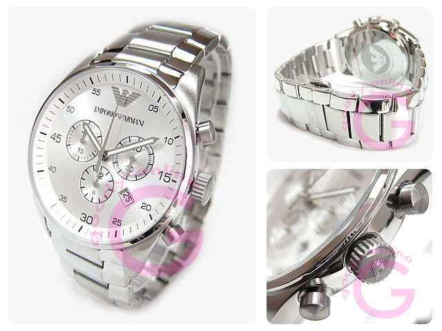 EMPORIO ARMANI / エンポリオアルマーニ AR5963 スポーツ クロノグラフ メンズウォッチ 腕時計