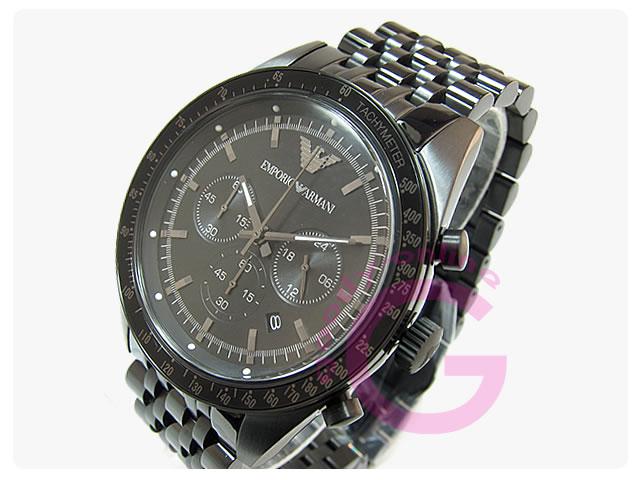 EMPORIO ARMANI / エンポリオアルマーニ AR5989 スポルティボ クロノグラフ メンズウォッチ 腕時計
