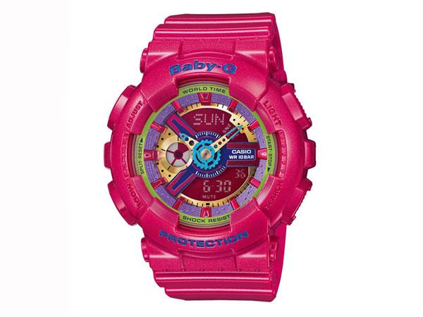 CASIO BABY-G (カシオ ベビーG) BA-112-4A/BA112-4A アナデジ ピンク レディースウォッチ 腕時計 (日本版型番:BA-112-4AJF/BA112-4AJF)