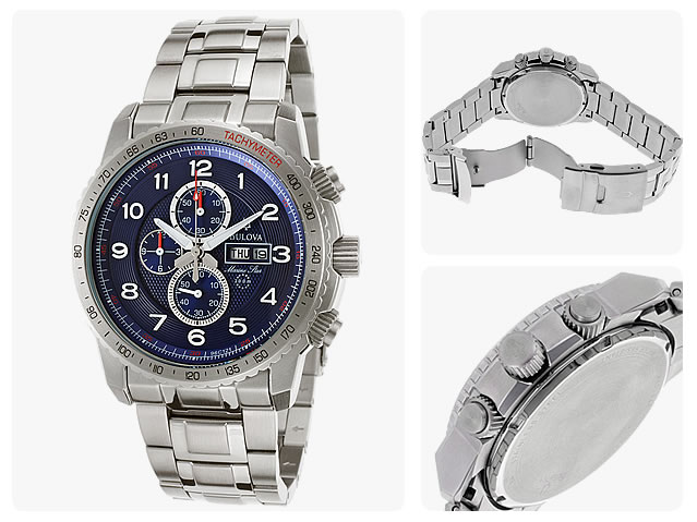 BULOVA (ブローバ) 96C121 Marine Star/マリンスター クロノグラフ メンズウォッチ 腕時計