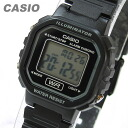 CASIO (CASIO) LA-20WH-1A/LA20WH-1A standard digital black ladies watch watches