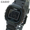 CASIO (Casio) LA-20WH-1B/LA20WH-1B standard digital black X black dial Lady's watch watch