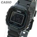CASIO (CASIO) LA-20WH-1B/LA20WH-1B standard digital black x black dial ladies watch watches