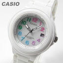CASIO (CASIO) LXS700H-7B2V solar analog rubber belt multicolor kids and children recommended! So cute! Ladies watch watches