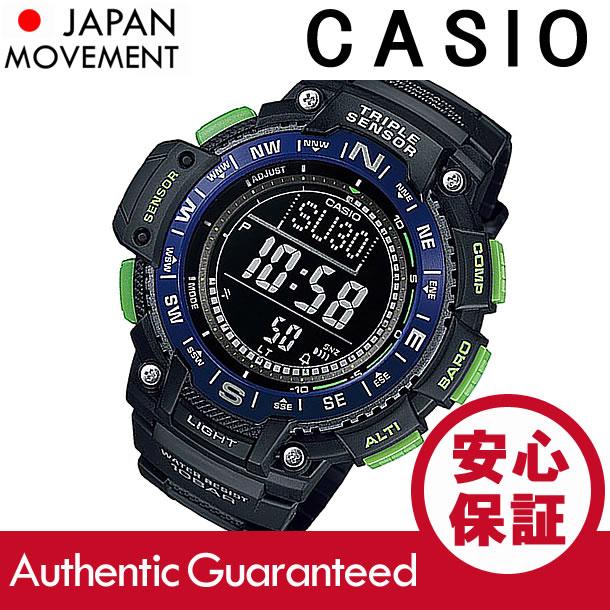 CASIO (カシオ) SGW-1000-2B/SGW1000-2B デジタル コンパス ブルー キッズ・子供 かわいい! メンズウォッチ チープカシオ 腕時計